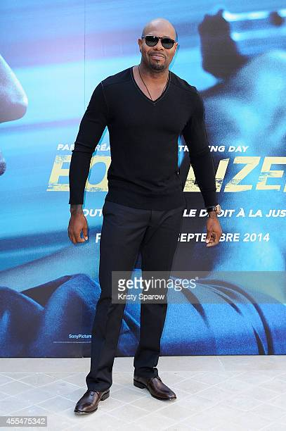 Antoine Fuqua attends the 'Equalizer' Paris Photocall at Hotel Bristol on September 15 2014 in Paris France