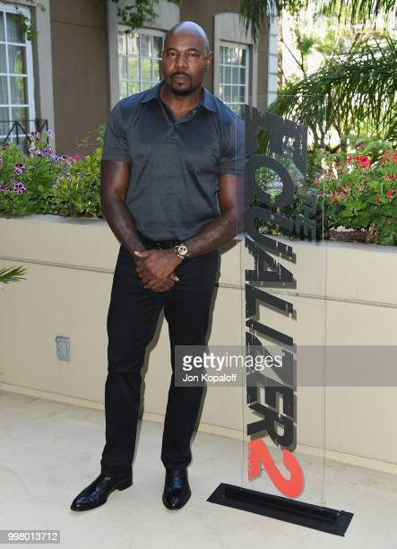 Antoine Fuqua attends the photo call for Columbia Pictures' 'The Equalizer 2' at the Four Seasons Hotel on July 13 2018 in Los Angeles California