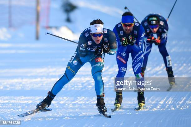 Antoine Gerard of France competes during the FIS Nordic World Cup Nordic Combined HS138 / Ind Gund on December 3 2017 in Lillehammer Norway