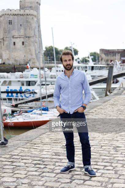 Antoine Gouy attends a photocall of 20th Festival of TV Fiction on September 13 2018 in La Rochelle France