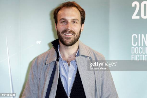 Antoine Gouy attends closing ceremony photocall of Valenciennes Cinema Festival on March 18 2017 in Valenciennes France