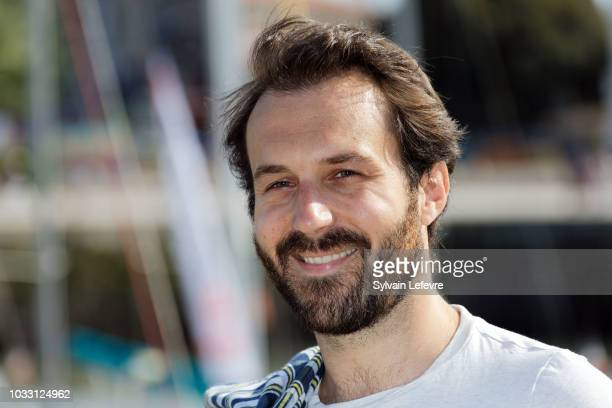 Antoine Gouy attends day 3 photocall of 20th Festival of TV Fiction on September 14 2018 in La Rochelle France