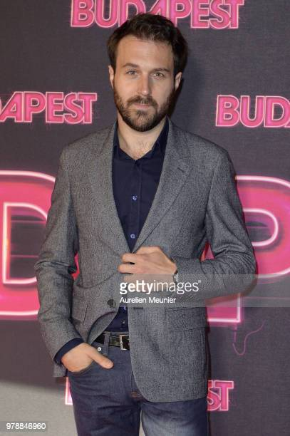Antoine Gouy attends the 'Budapest' Paris premiere at cinema Gaumont Opera on June 19 2018 in Paris France