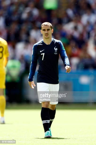 Antoine Griezman of France during the 2018 FIFA World Cup Russia group C match between France and Australia at Kazan Arena on June 16 2018 in Kazan...