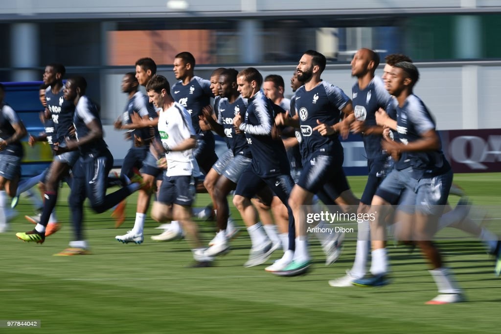Team france - Training Session - FIFA World Cup