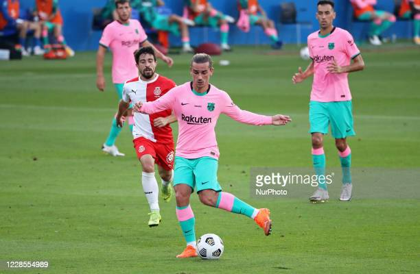 Antoine Griezmann during the friendly match between FC Barcelona and Girona FC played at the Johan Cruyff Stadium on 16th September 2020 in Barcelona...