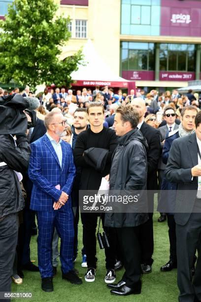 Antoine Griezmann during the horse racing Qatar Prix de l'Arc de Triomphe at Hippodrome de Chantilly on October 1 2017 in Chantilly France