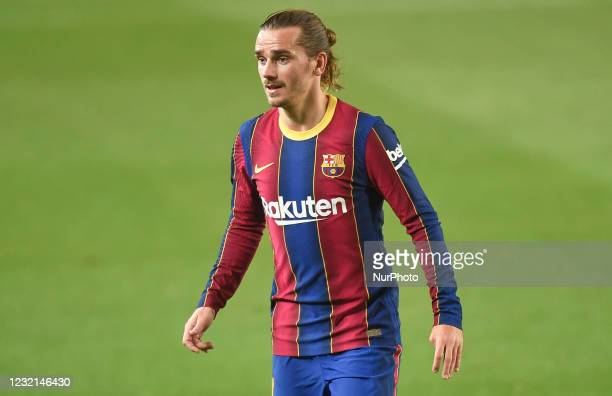 Antoine Griezmann during the match between FC Barcelona and Valladolid CF, corresponding to the week 29 of the Liga Santander, played at the Camp Nou...