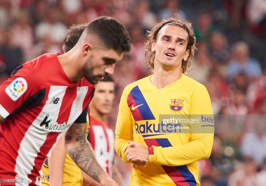 SOCCER: AUG 16 La Liga - FC Barcelona at Athletic Club : News Photo
