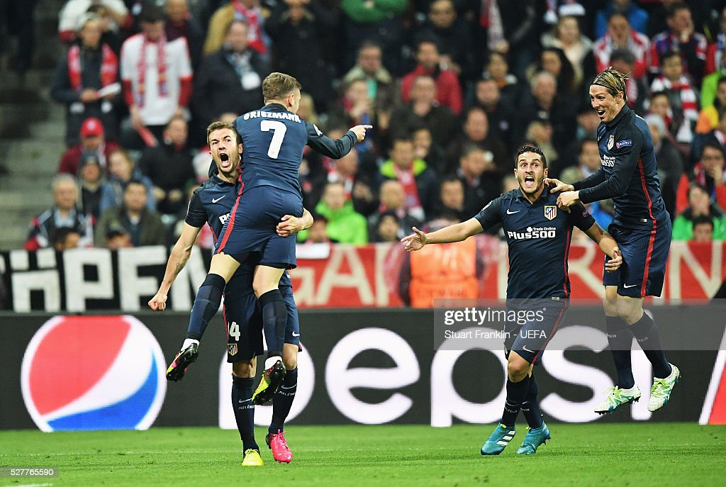FC Bayern Muenchen v Club Atletico de Madrid - UEFA Champions League Semi Final: Second Leg : Nachrichtenfoto