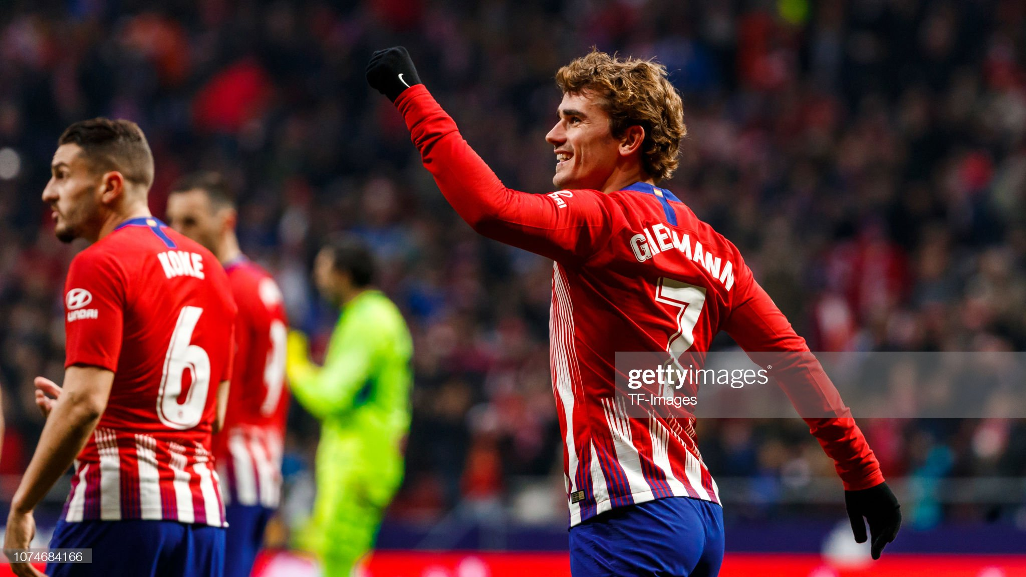 Atletico Madrid v Espanyol - La Liga Santander : News Photo