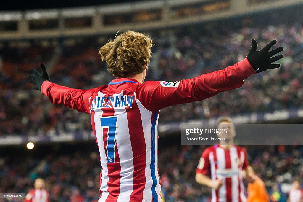 Copa del Rey 2016-17 - Atletico de Madrid vs SD Eibar : News Photo