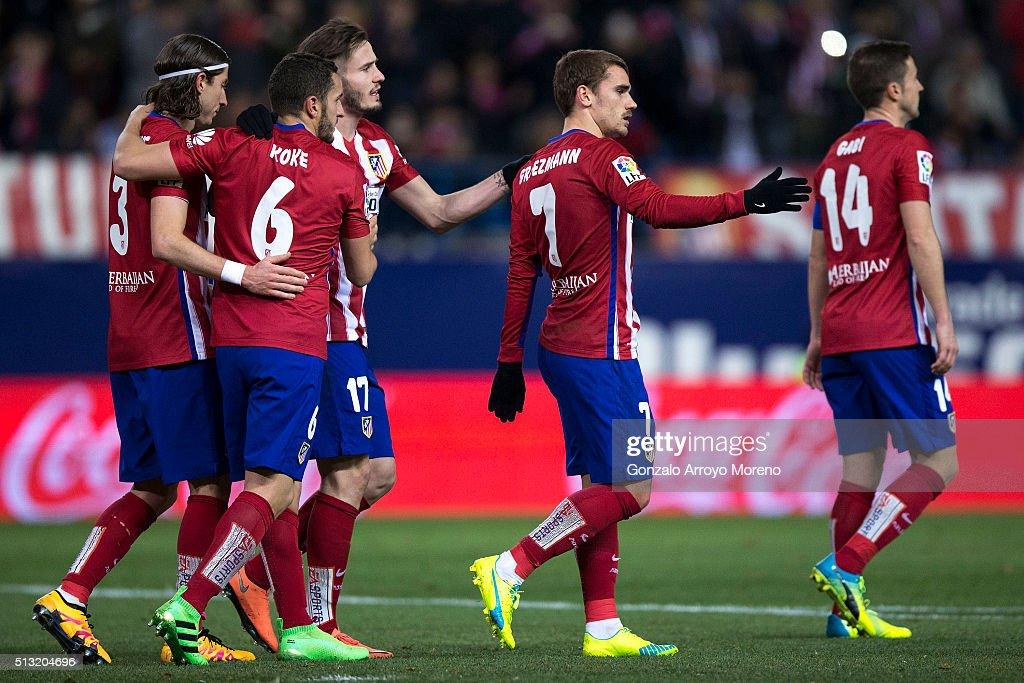 Club Atletico de Madrid v Real Sociedad de Futbol - La Liga : News Photo