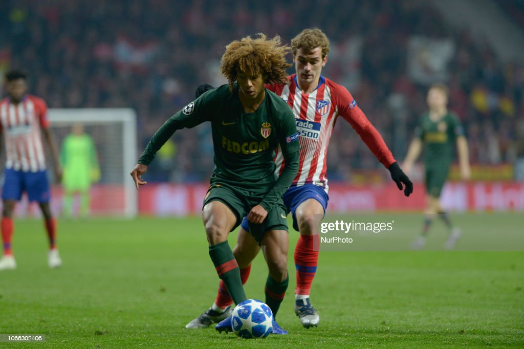 Club Atletico de Madrid v AS Monaco - UEFA Champions League Group A : News Photo