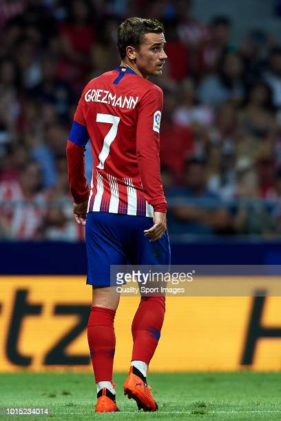 Antoine Griezmann of Atletico de Madrid looks on during the International Champions Cup 2018 match between Atletico de Madrid and FC Internazionale...