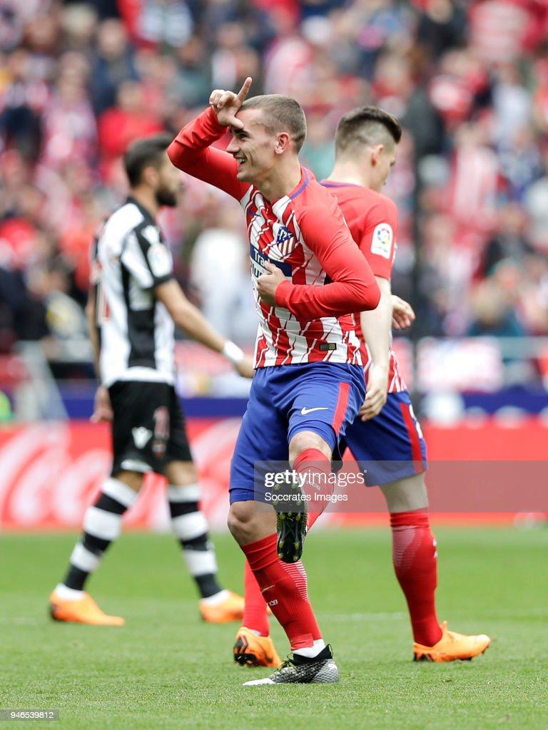 Atletico Madrid v Levante - La Liga Santander : News Photo