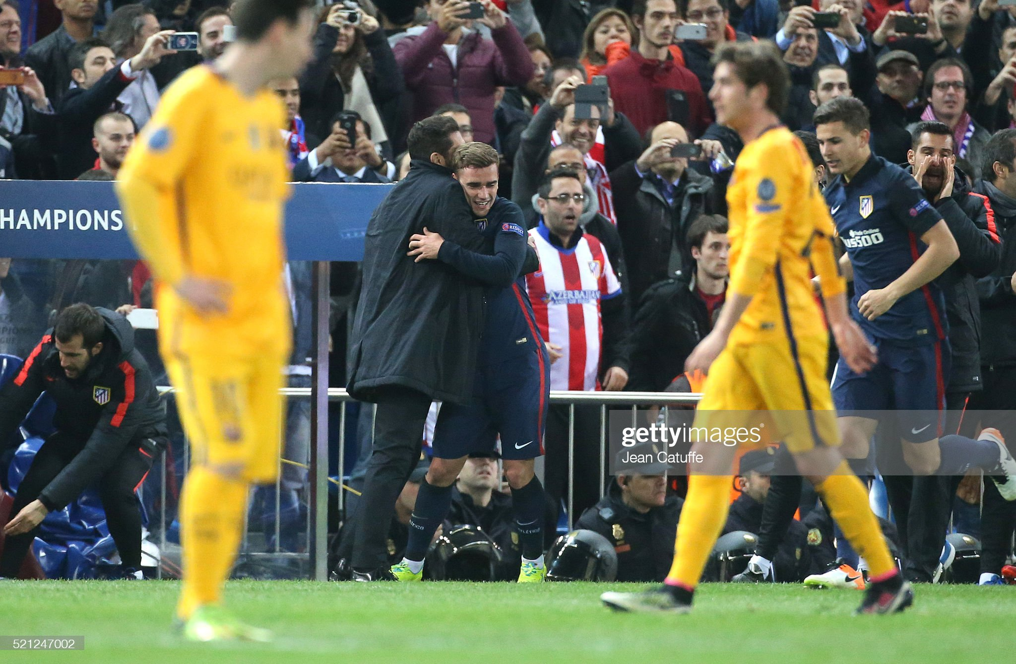 Atletico Madrid v FC Barcelona - UEFA Champions League Quarter Final: Second Leg : News Photo