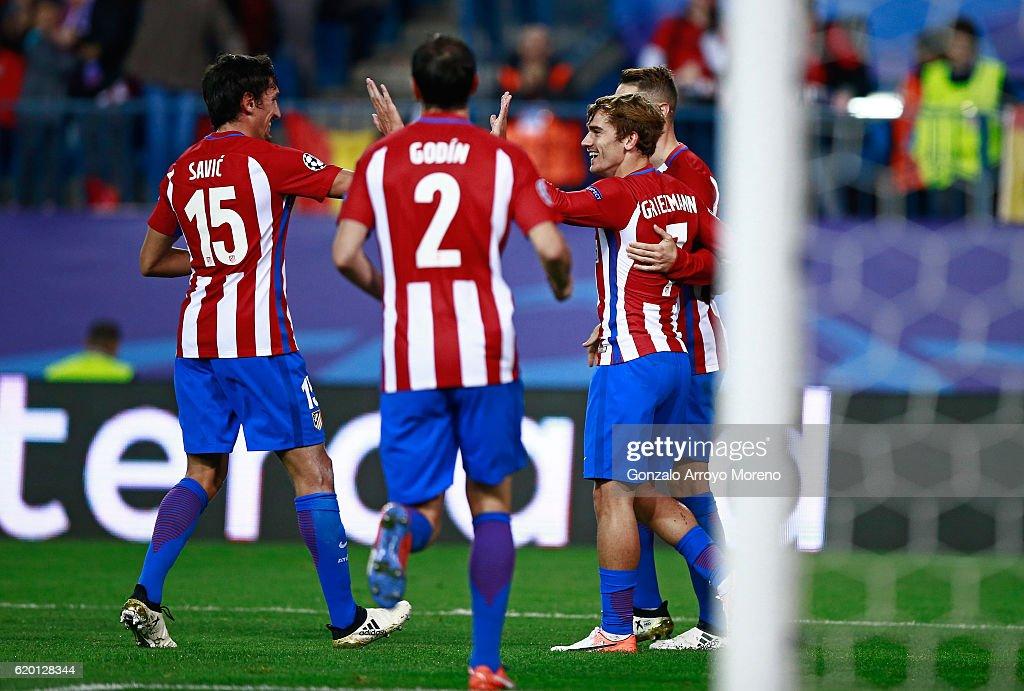Club Atletico de Madrid v FC Rostov - UEFA Champions League : News Photo