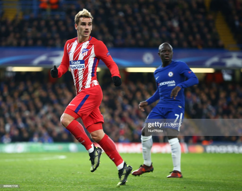 Chelsea FC v Atletico Madrid - UEFA Champions League : News Photo