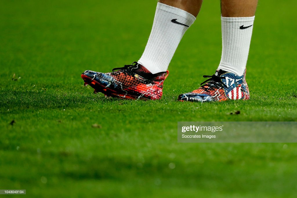5637f51f4 antoine griezmann of atletico madrid shoes during the la liga