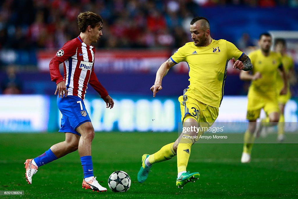 Club Atletico de Madrid v FC Rostov - UEFA Champions League : News Photo