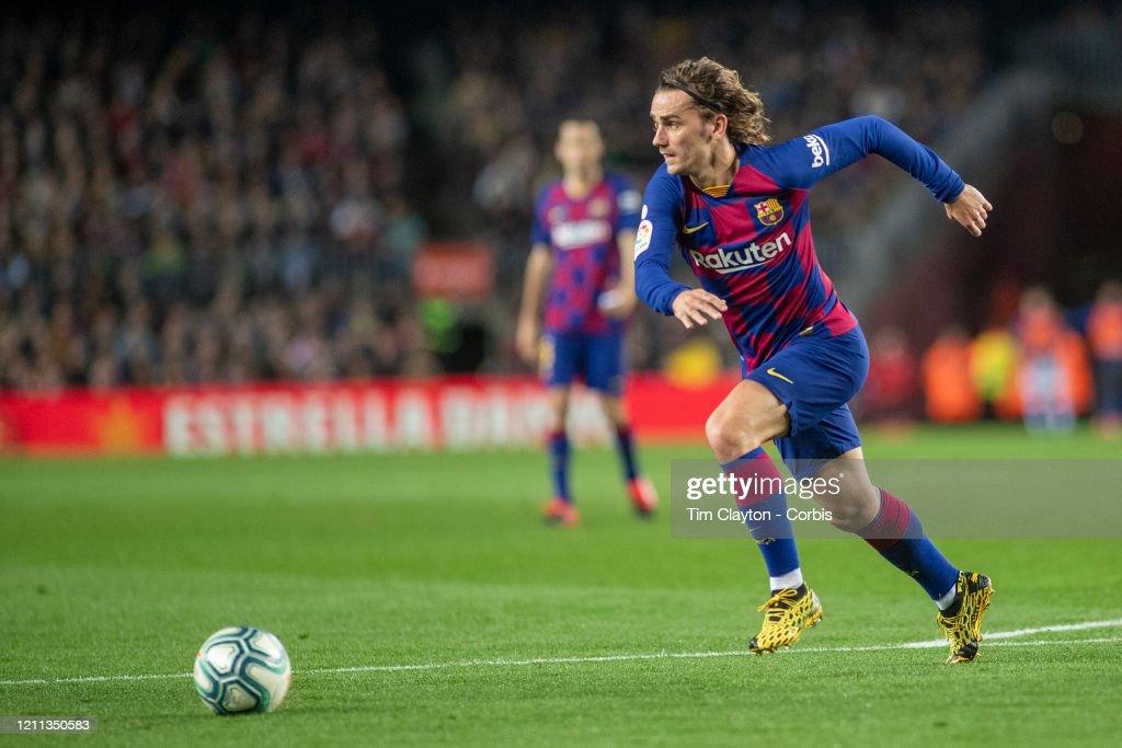 Barcelona V Real Sociedad : News Photo