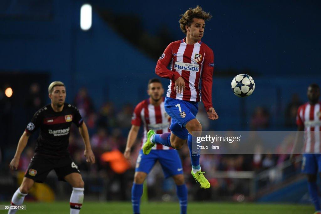 Club Atletico de Madrid v Bayer Leverkusen - UEFA Champions League Round of 16: Second Leg : News Photo