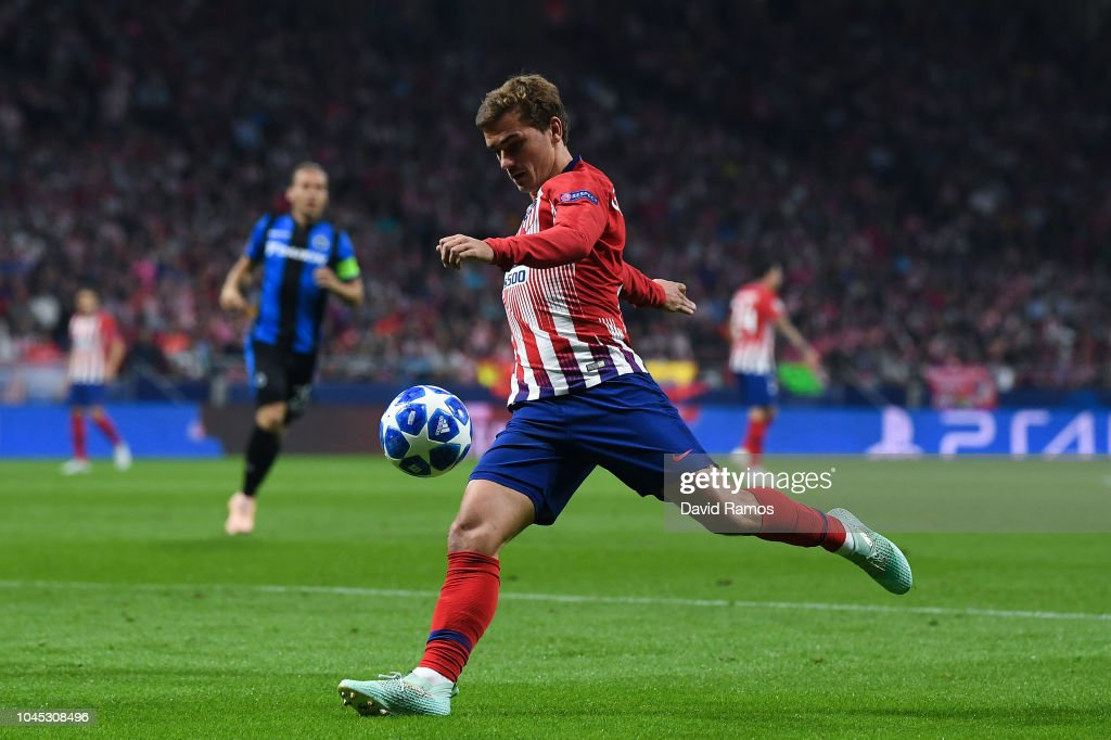 Club Atletico de Madrid v Club Brugge - UEFA Champions League Group A : News Photo