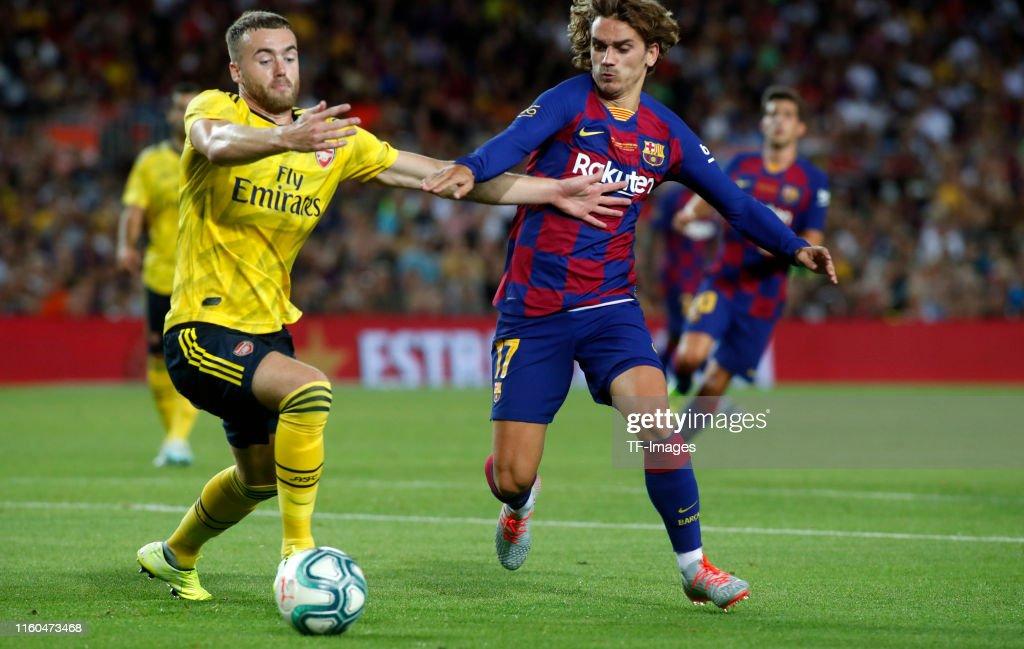 FC Barcelona v Arsenal - Pre-Season Friendly : News Photo
