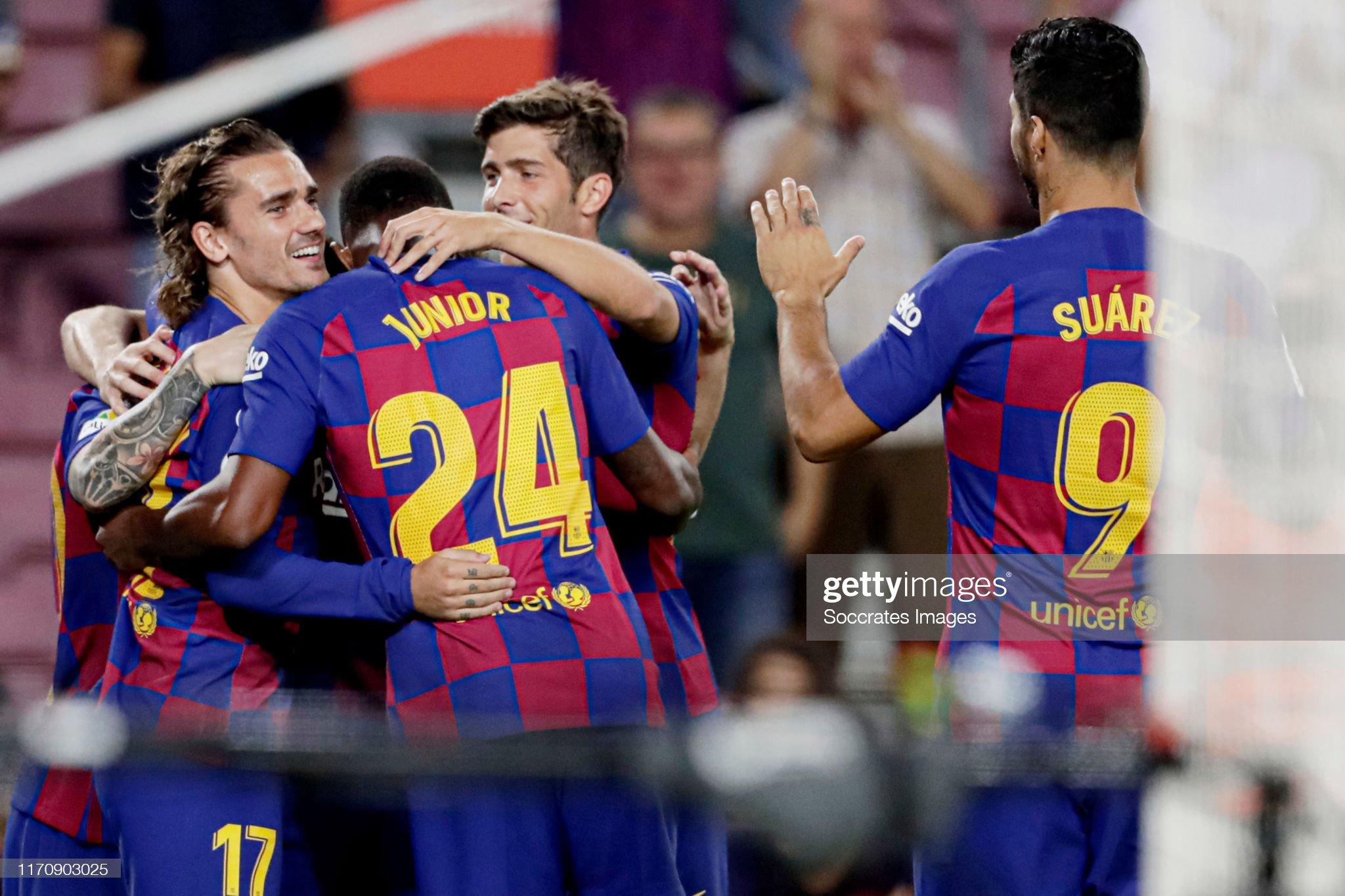 صور مباراة : برشلونة - فياريال 2-1 ( 24-09-2019 )  Antoine-griezmann-of-fc-barcelona-celebrates-10-with-lionel-messi-of-picture-id1170903025?s=2048x2048