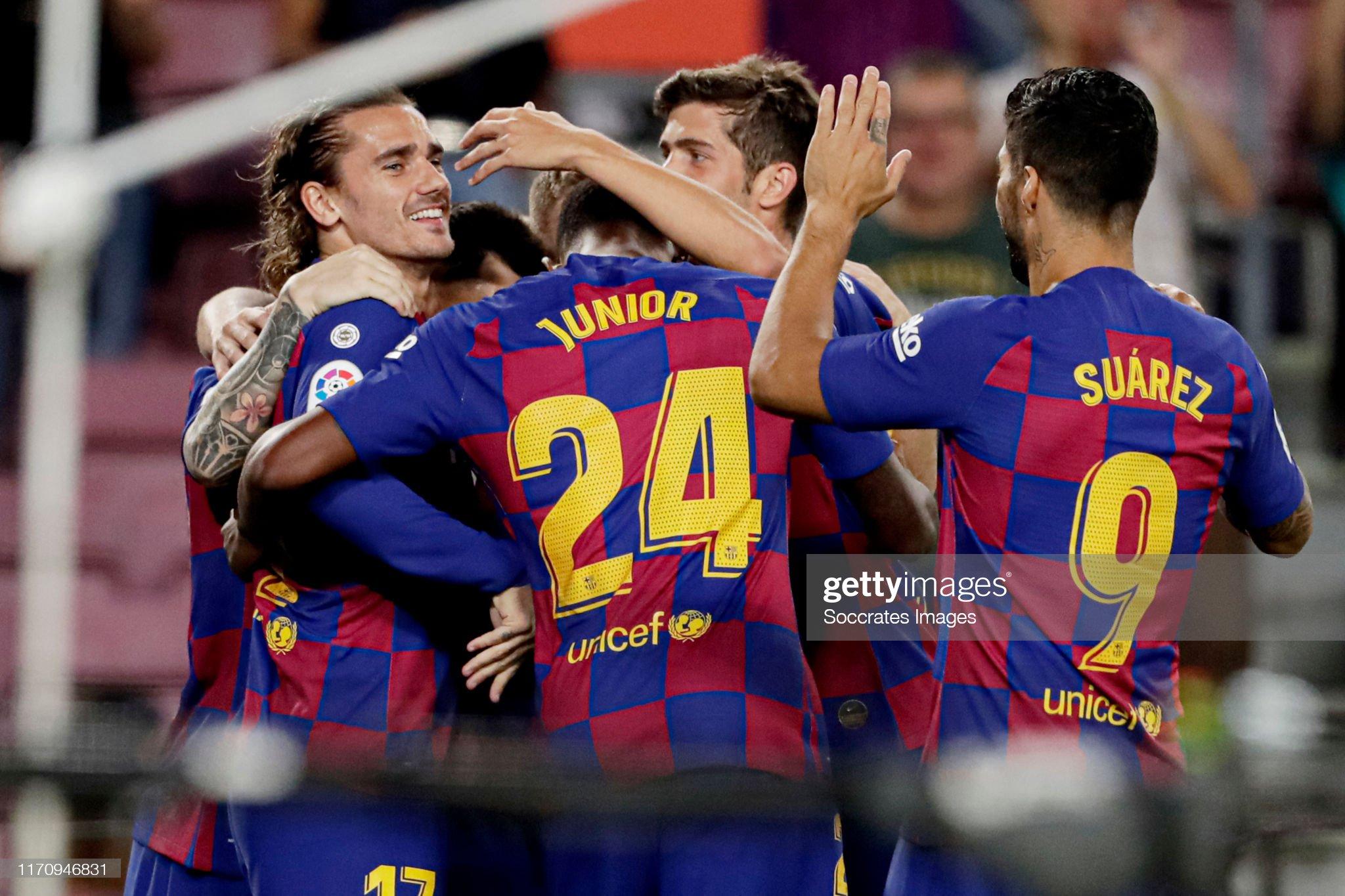 صور مباراة : برشلونة - فياريال 2-1 ( 24-09-2019 )  Antoine-griezmann-of-fc-barcelona-celebrates-10-with-lionel-messi-of-picture-id1170946831?s=2048x2048