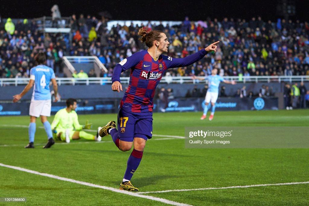 UD Ibiza v FC Barcelona - Copa del Rey: Round of 32 : News Photo