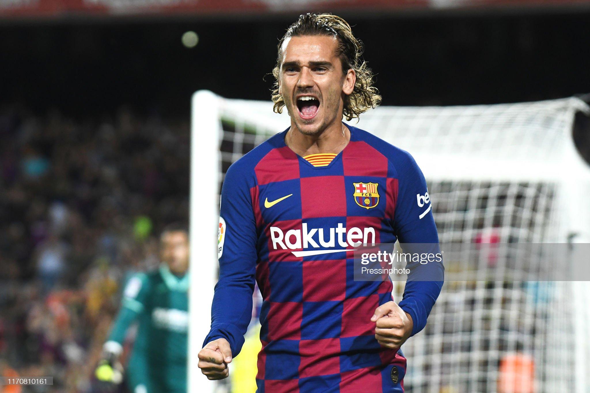 صور مباراة : برشلونة - فياريال 2-1 ( 24-09-2019 )  Antoine-griezmann-of-fc-barcelona-celebrates-his-goal-during-the-liga-picture-id1170810161?s=2048x2048
