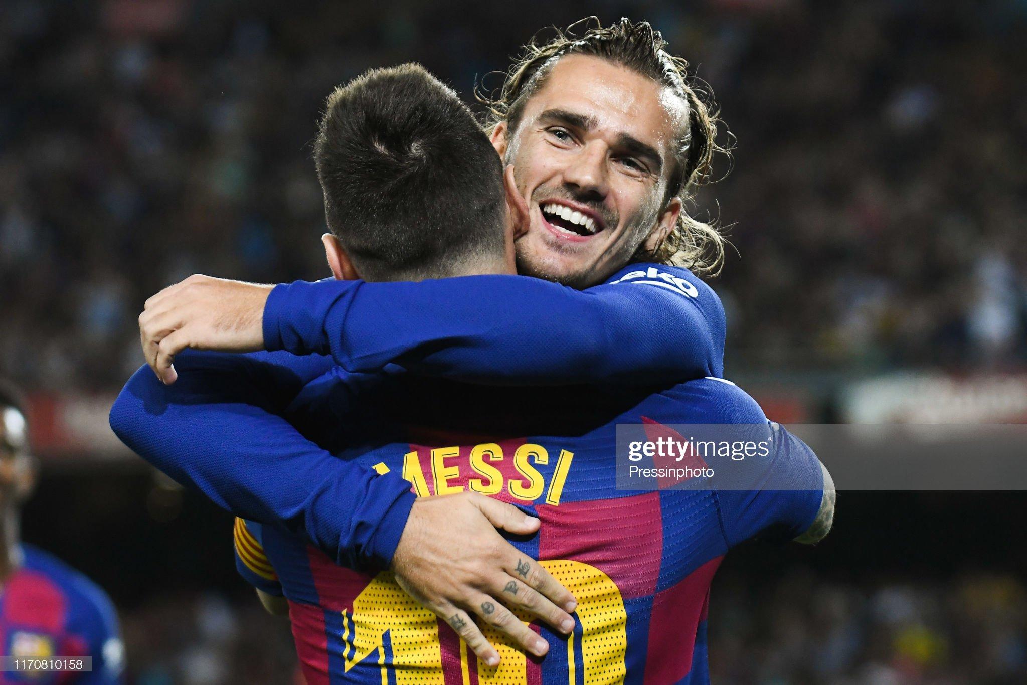 صور مباراة : برشلونة - فياريال 2-1 ( 24-09-2019 )  Antoine-griezmann-of-fc-barcelona-celebrates-his-goal-with-lionel-of-picture-id1170810158?s=2048x2048