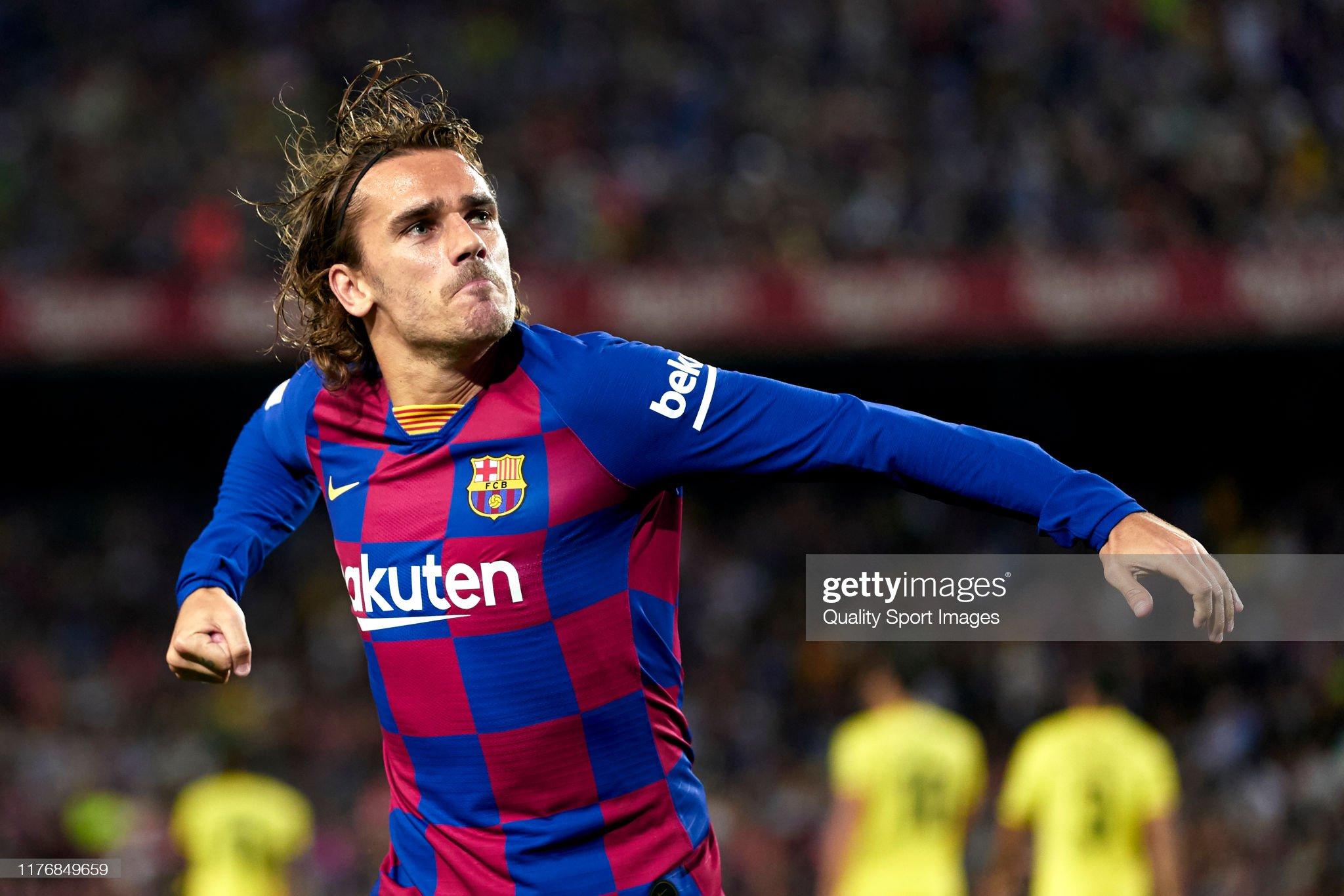 صور مباراة : برشلونة - فياريال 2-1 ( 24-09-2019 )  Antoine-griezmann-of-fc-barcelona-celebrates-their-teams-first-goal-picture-id1176849659?s=2048x2048