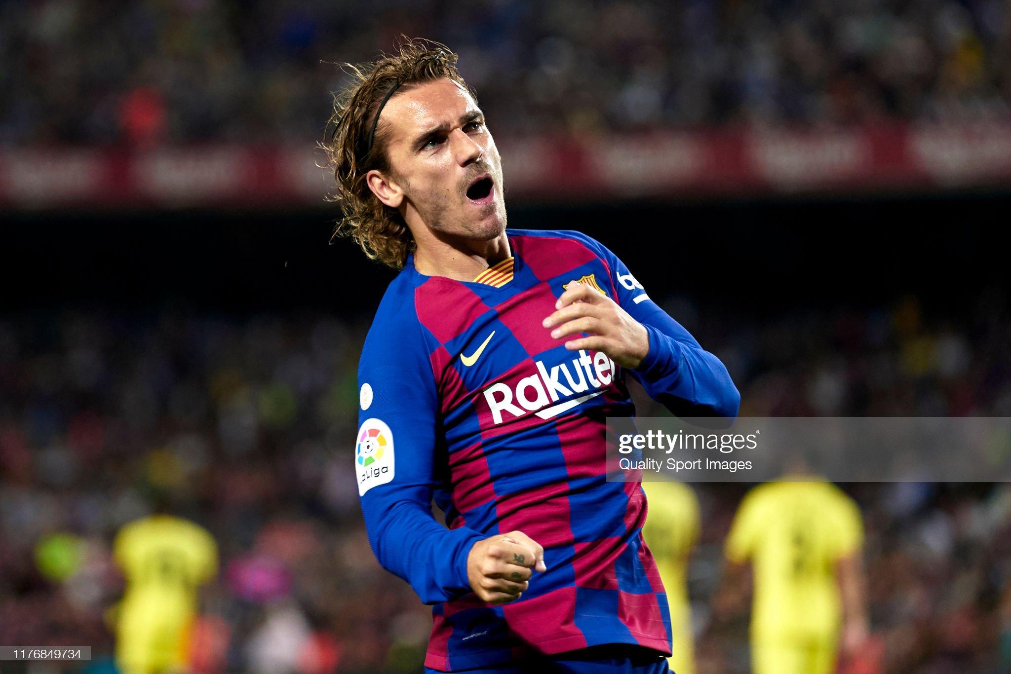 صور مباراة : برشلونة - فياريال 2-1 ( 24-09-2019 )  Antoine-griezmann-of-fc-barcelona-celebrates-their-teams-first-goal-picture-id1176849734?s=2048x2048