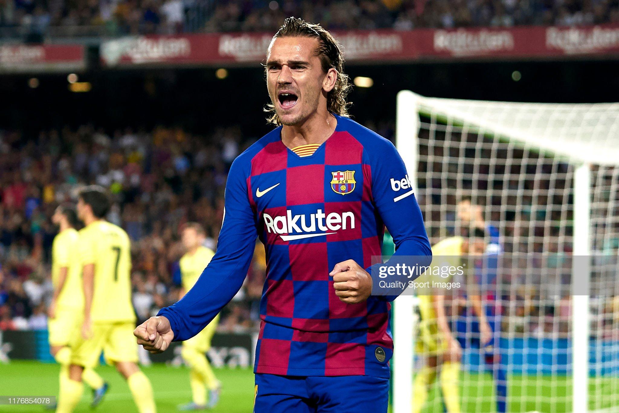 صور مباراة : برشلونة - فياريال 2-1 ( 24-09-2019 )  Antoine-griezmann-of-fc-barcelona-celebrates-their-teams-first-goal-picture-id1176854078?s=2048x2048