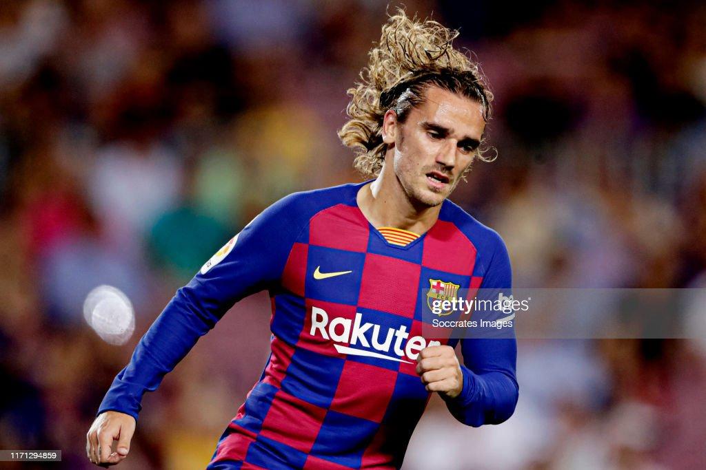 FC Barcelona v Villarreal - La Liga Santander : News Photo