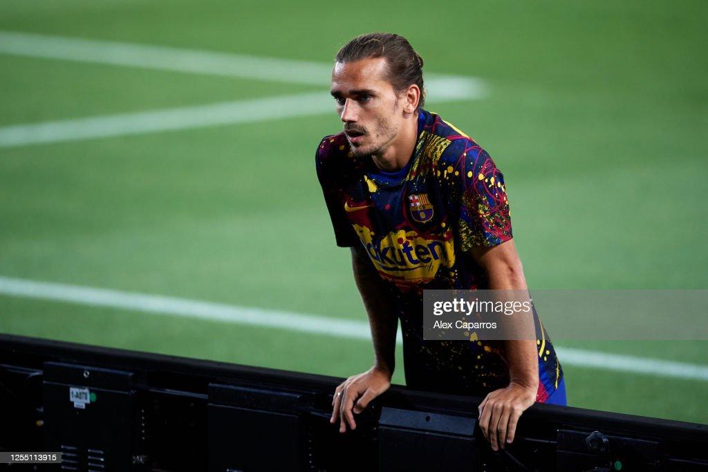 FC Barcelona v RCD Espanyol  - La Liga : News Photo