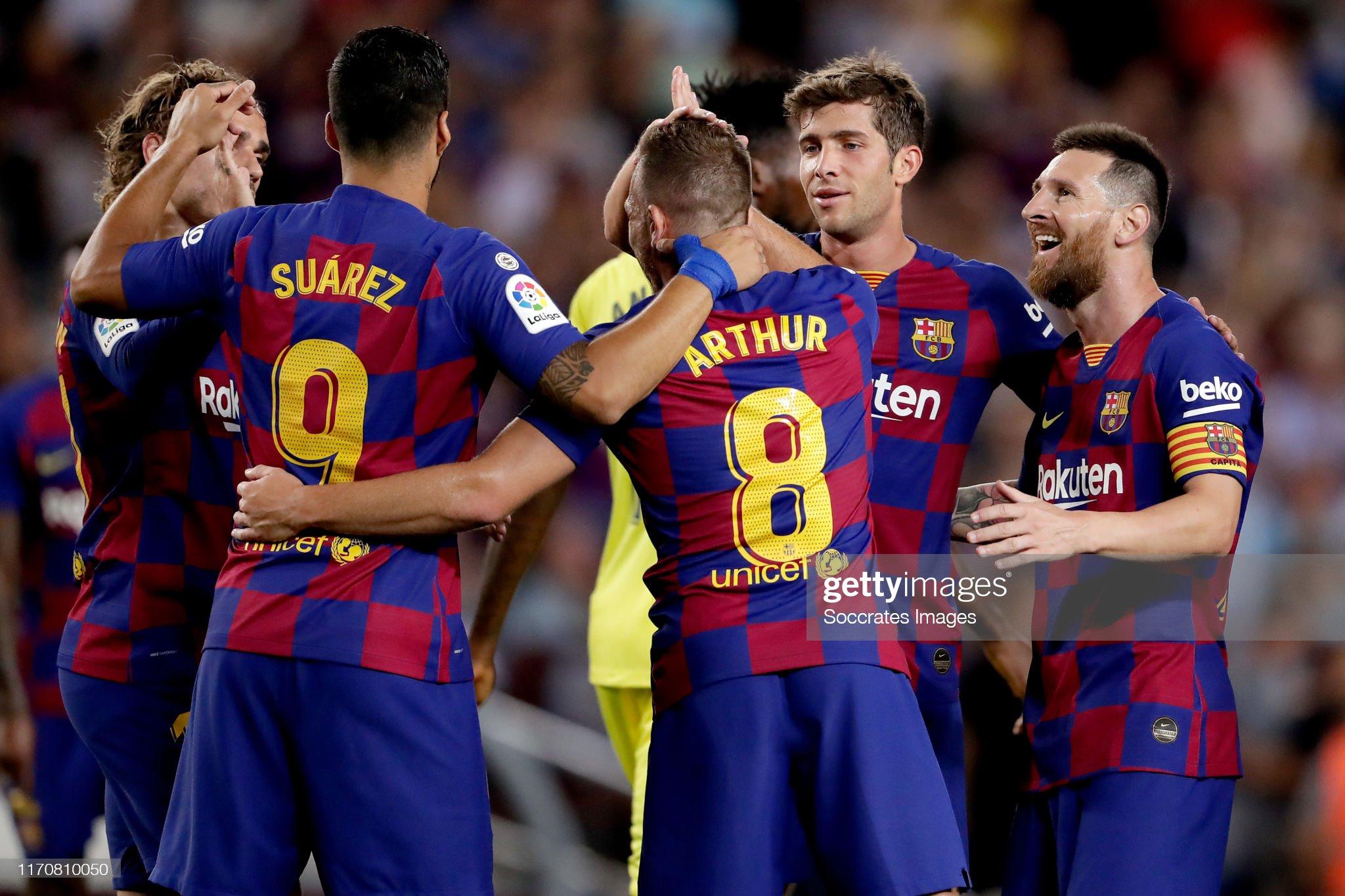 صور مباراة : برشلونة - فياريال 2-1 ( 24-09-2019 )  Antoine-griezmann-of-fc-barcelona-luis-suarez-of-fc-barcelona-arthur-picture-id1170810050?s=2048x2048