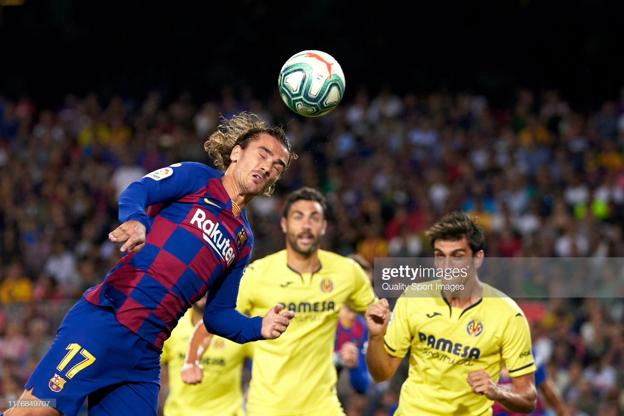 صور مباراة : برشلونة - فياريال 2-1 ( 24-09-2019 )  Antoine-griezmann-of-fc-barcelona-scores-their-teams-first-goal-the-picture-id1176849707?s=2048x2048