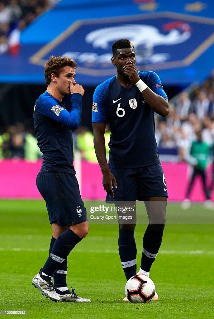 France v Germany - UEFA Nations League A : Photo d'actualité