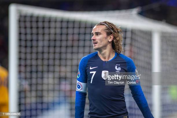 Antoine Griezmann of France during the France V Moldova 2020 European Championship qualifying group H match at Stade de France on November 14th 2019...