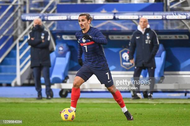 Antoine GRIEZMANN of France during the international friendly match between France and Finland at Stade de France on November 11, 2020 in Paris,...