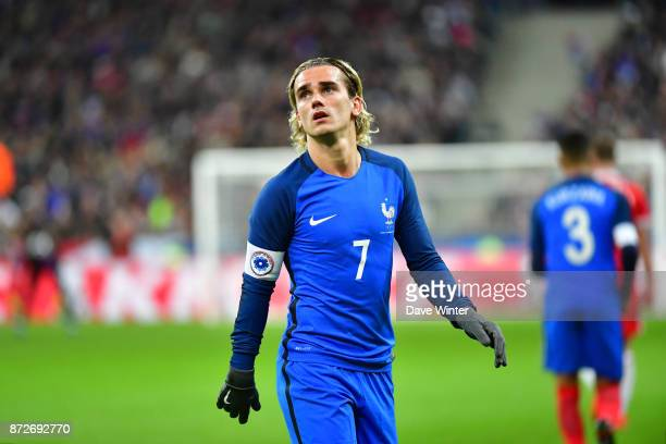 Antoine Griezmann of France during the international friendly match between France and Wales at Stade de France on November 10 2017 in Paris France