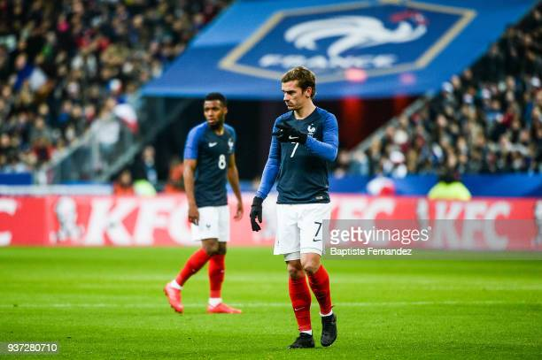 Antoine Griezmann of France during the International friendly match between France and Colombia on March 23 2018 in Paris France