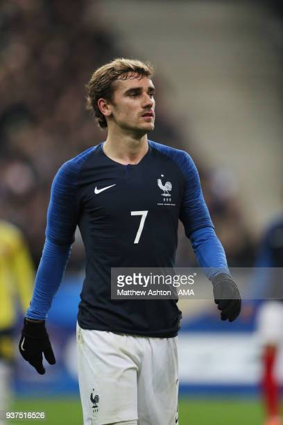 Antoine Griezmann of France during the International Friendly match between France and Colombia at Stade de France on March 23 2018 in Paris France