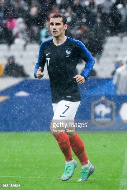 Antoine Griezmann of France during the International Friendly match between France and Republic of Ireland on May 28 2018 in Paris France