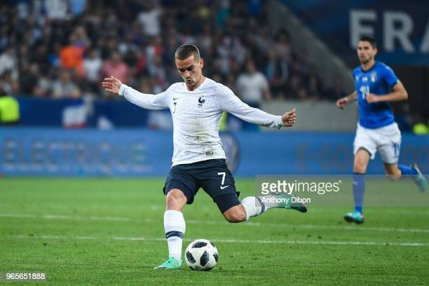 Antoine Griezmann of France during the International Friendly match between France and Italy at Allianz Riviera Stadium on June 1 2018 in Nice France