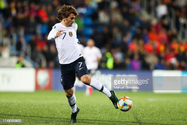 Antoine Griezmann of France during the Qualifying European Championship 2020 match between Andorra and France at Estadi Nacional on June 11 2019 in...